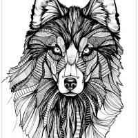 Mandalas, Unicorns, Wolves and Yin Yans