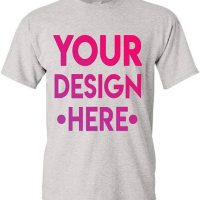 Design T-Shirts, Golf Shirts or Aprons with your OWN Images